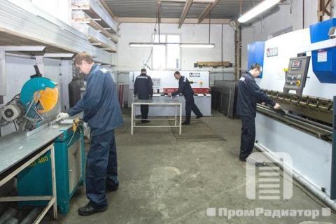 Подготовительный цех №1 - компания ПромРадиатор