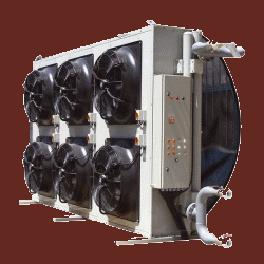 Радиаторы на промышленные охладители